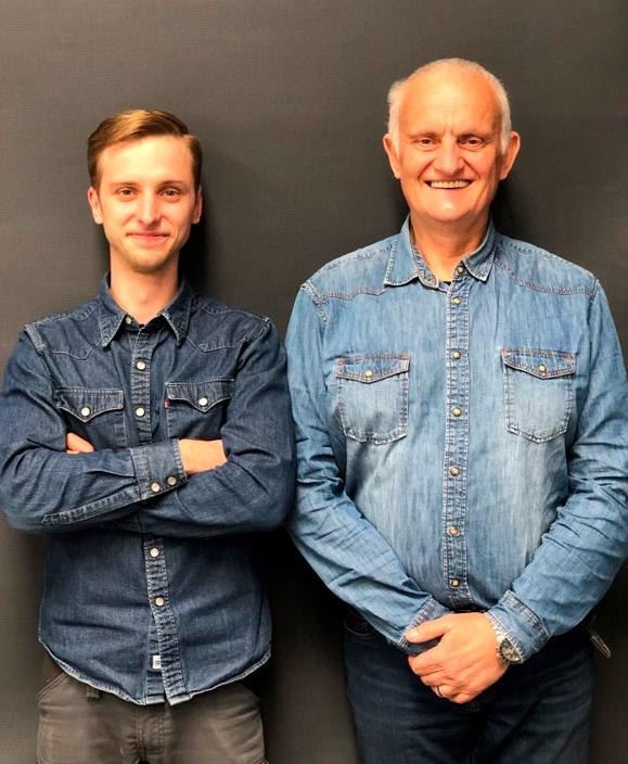Jonathan Nicolas et son Papa