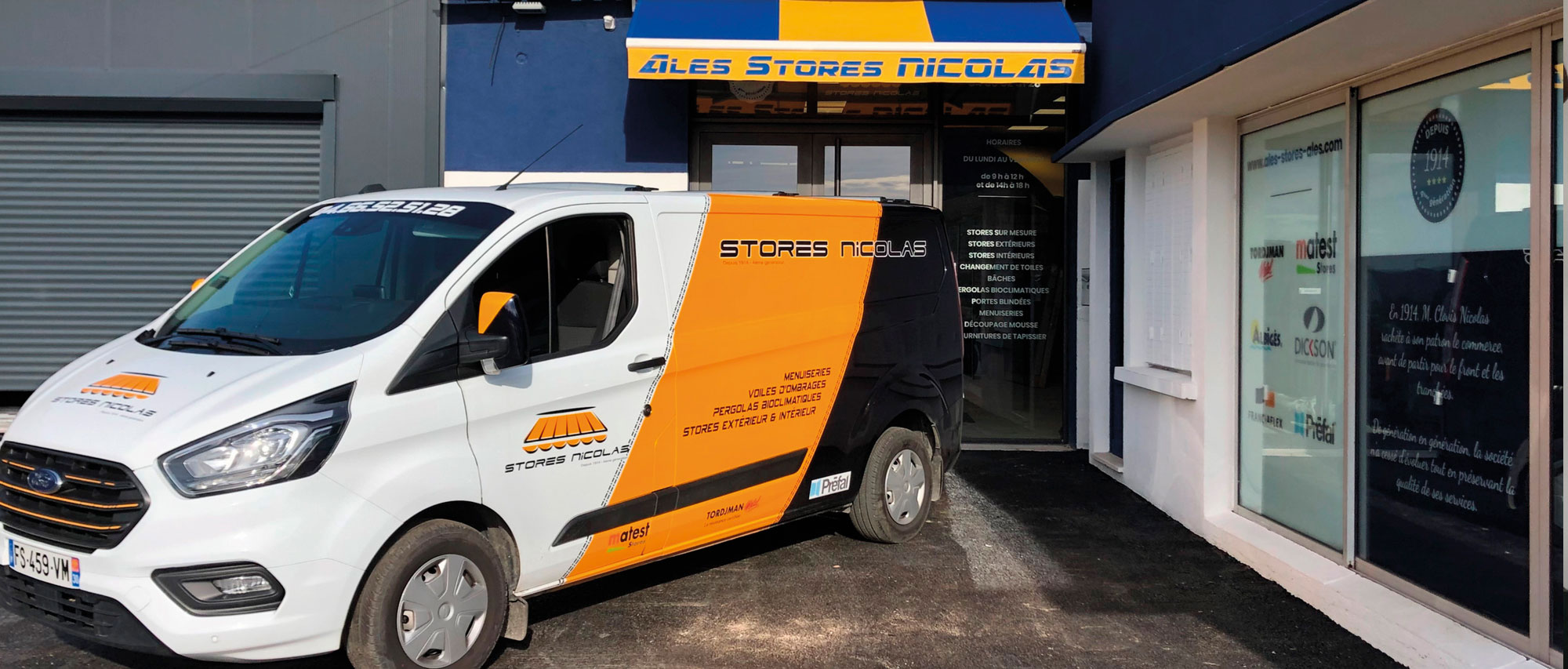 Boutique Stores Nicolas Alès
