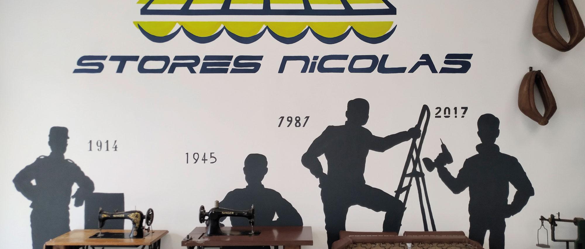 Historique Stores Nicolas